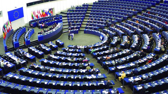 Collocazione partiti politici nel Parlamento Europeo nel 2009