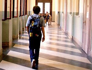 scuola corridoio