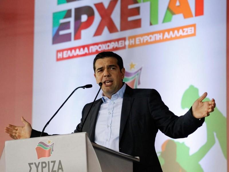 Alexis Tsipras nell'ultimo discorso prima del voto