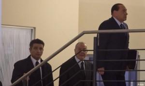 ++ Berlusconi giunto a sede Pd per incontro con Renzi ++