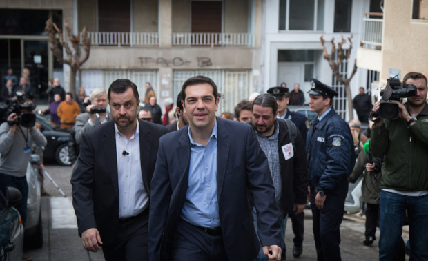 Greek Voters Head To The Polls For The General Election