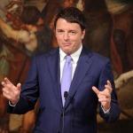 Matteo Renzi firma a Palazzo Chigi alcuni contratti di sviluppo a sostegno di progetti strategici in Italia e, in particolare, nel Mezzogiorno