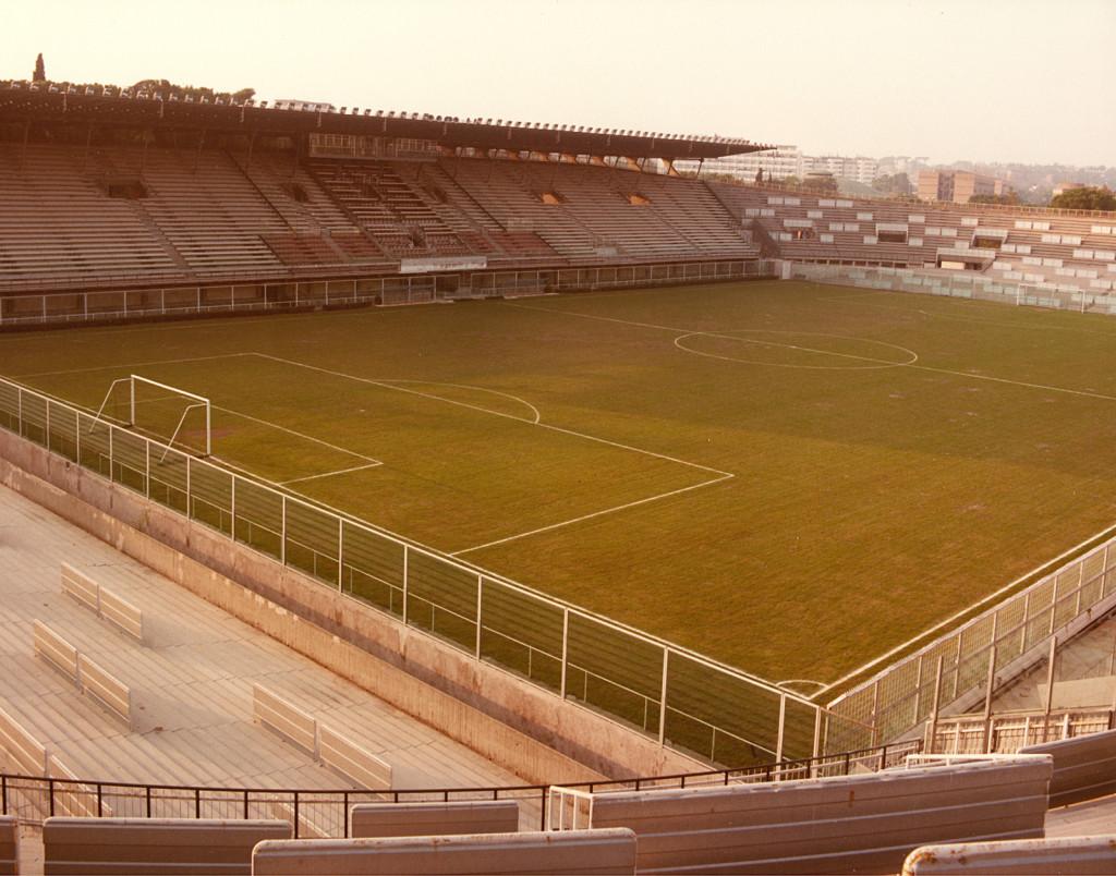 Lo stadio Flaminio negli anni '80
