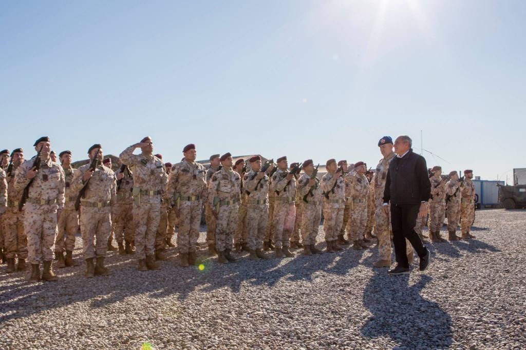 Il Presidente del Senato, Pietro Grasso, a Erbil (Kurdistan)
