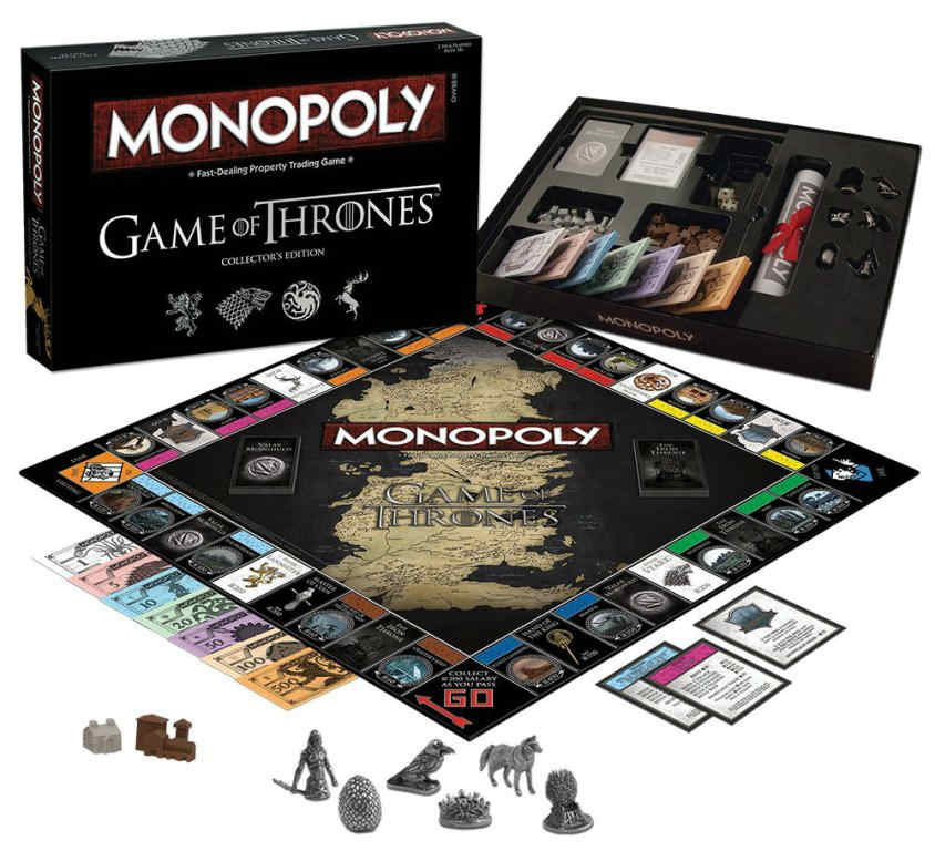 monopoly Game of Thrones regalo Natale