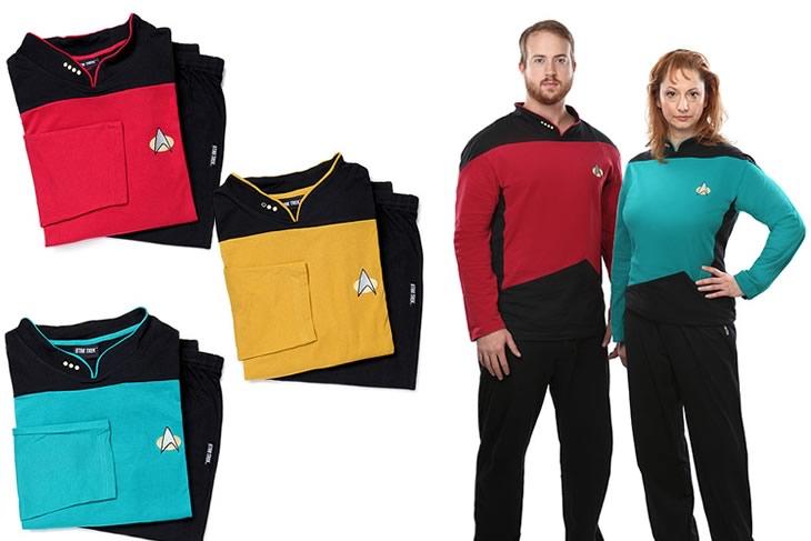 pigiami Star Trek regalo Natale