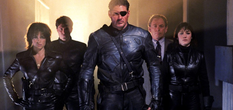 cinecomic Nick Fury Agents of S.H.I.E.L.D. David Hasselhoff