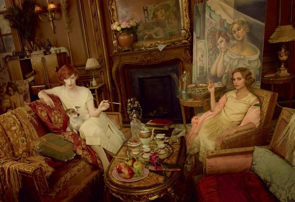 The danish girl - Eddie Redmayne e Alicia Vikander