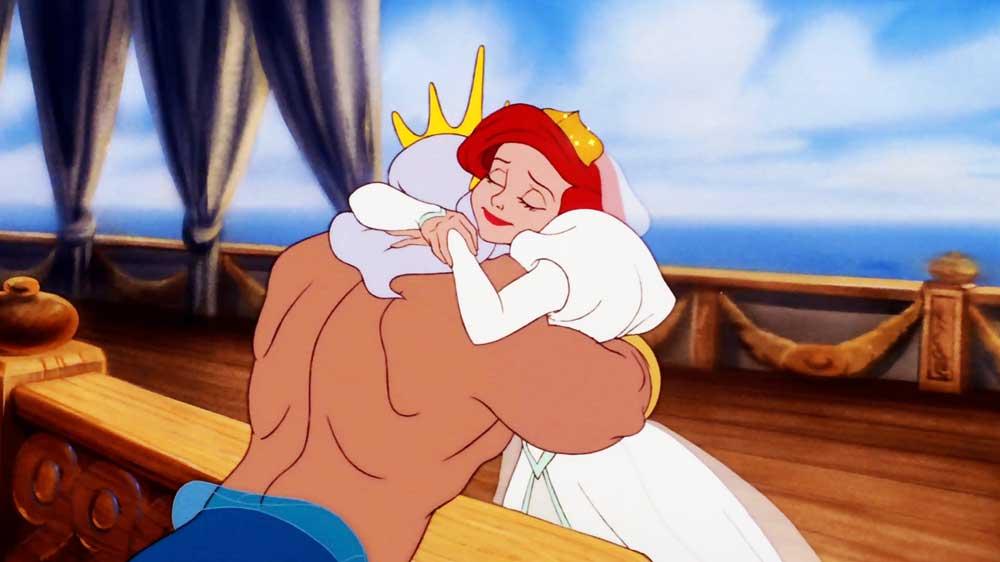 Film da vedere per la festa del papà - Ariel e re Tritone