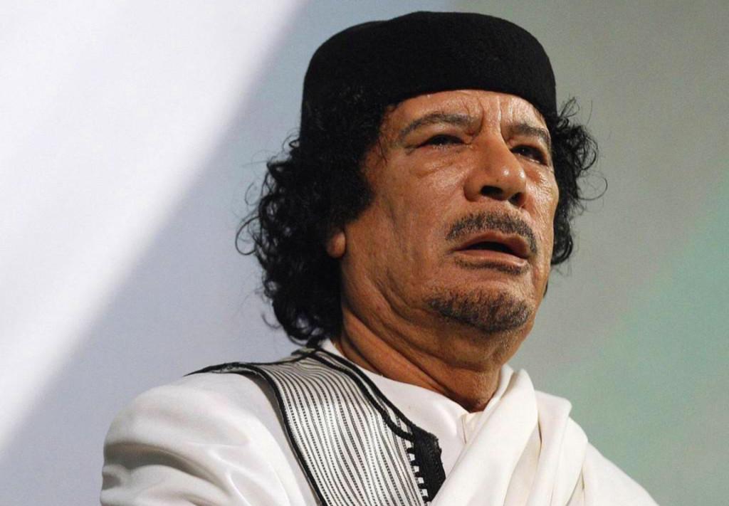 Muammar Gheddafi. Fonte: biografieonline.it