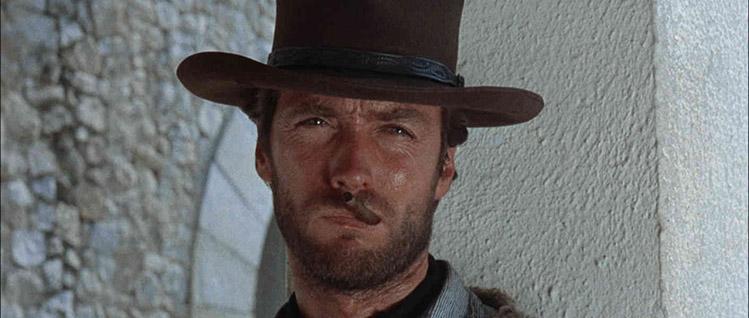 Clint Eastwood trilogia del dollaro sergio leone trilogie da vedere