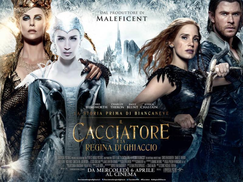 il-cacciatore-ela-regina-di-ghiaccio-poster
