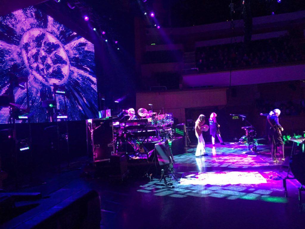 Gli YES al Royal Concert Hall, Glasgow, 27 aprile 2016