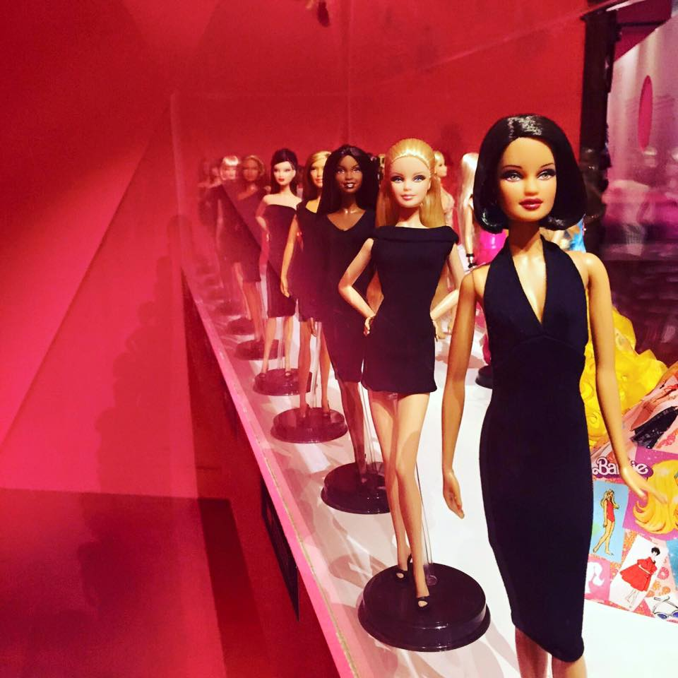 Barbie the icon col little black dress