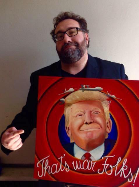 Stefano Gentile con the D-trump show!