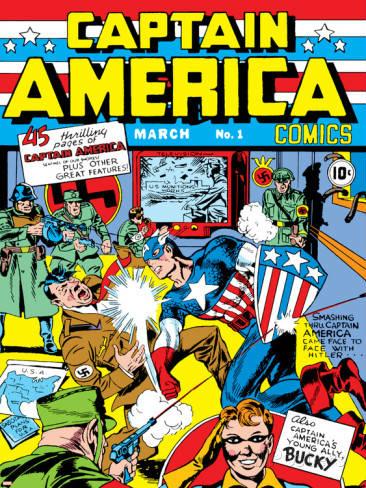 capitan america fumetti n 1