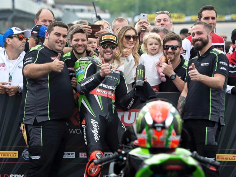 Sykes record Donington
