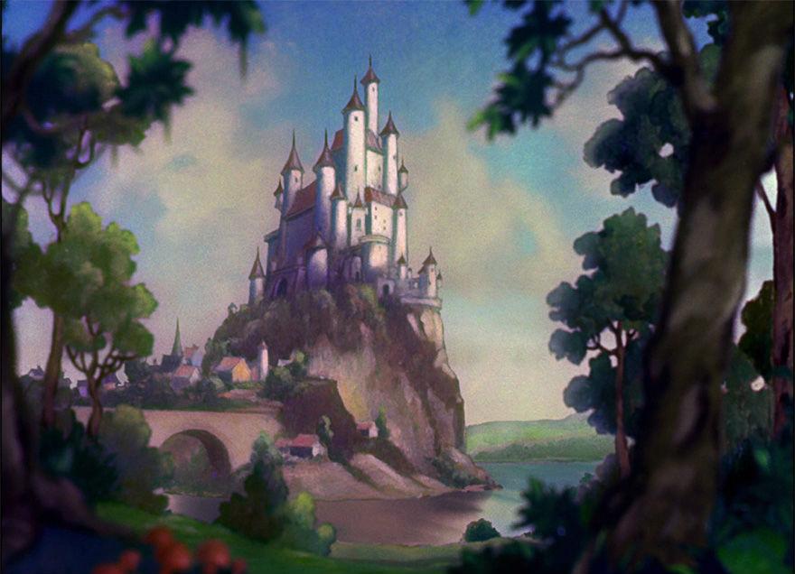 Location Disney reali - Biancaneve castello