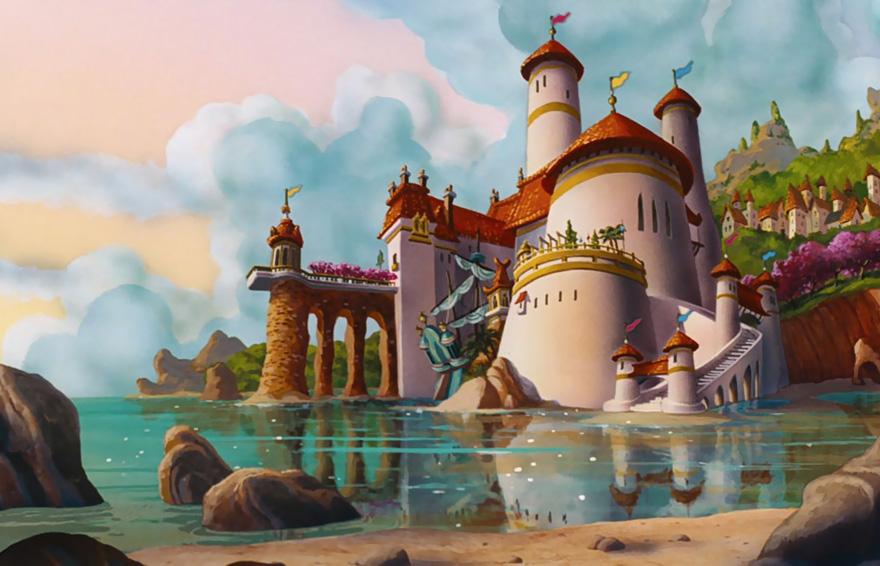 Location Disney reali - Castello principe Eric La sirenetta