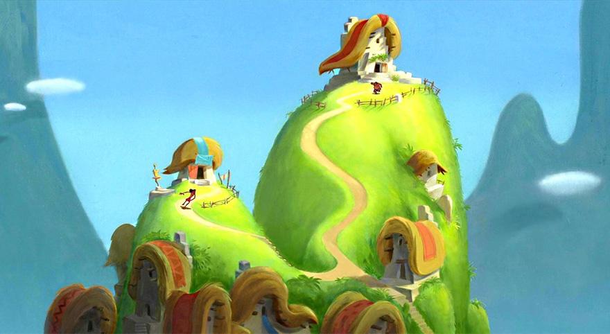 Location Disney reali - Le follie dell'imperatore villaggio
