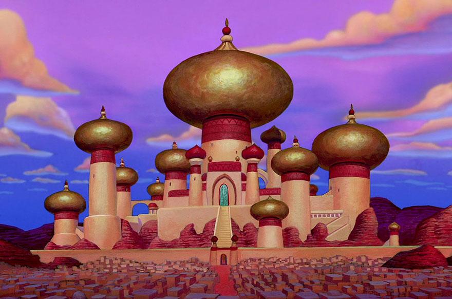 Location Disney reali - Palazzo del Sultano in Aladdin