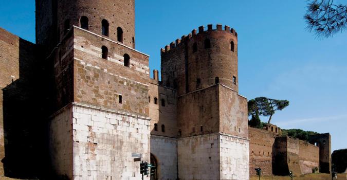 Porta San Sebastiano - Museo delle Mura. Fonte: museodellemuraroma.it