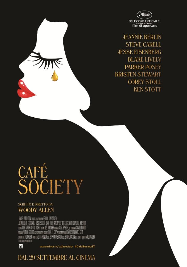 Café Society poster italiano