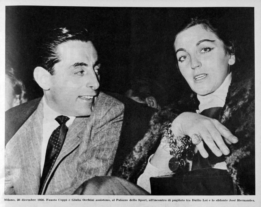Fausto Coppi e Giula Occhini