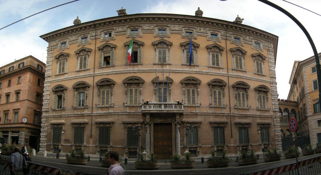 Palazzo Madama, sede del Senato della Repubblica