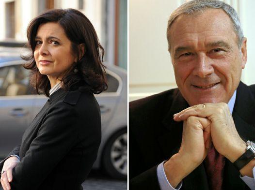 I Presidenti di Camera e Senato: Laura Boldrini e Piero Grasso