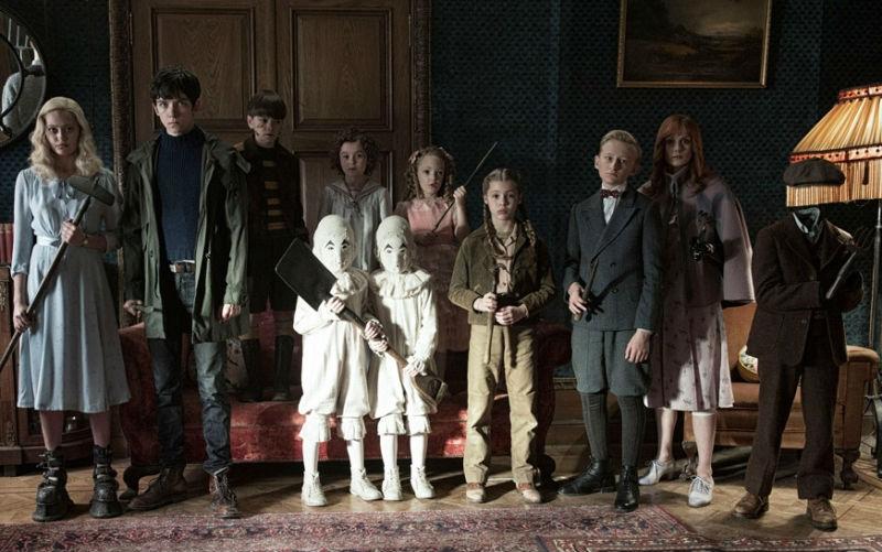Miss peregrine La casa dei ragazzi speciali film Tim Burton