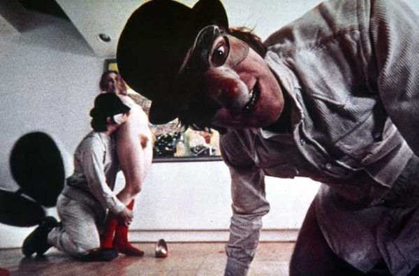 Arancia Meccanica Malcolm McDowell Cheryl Grunwald