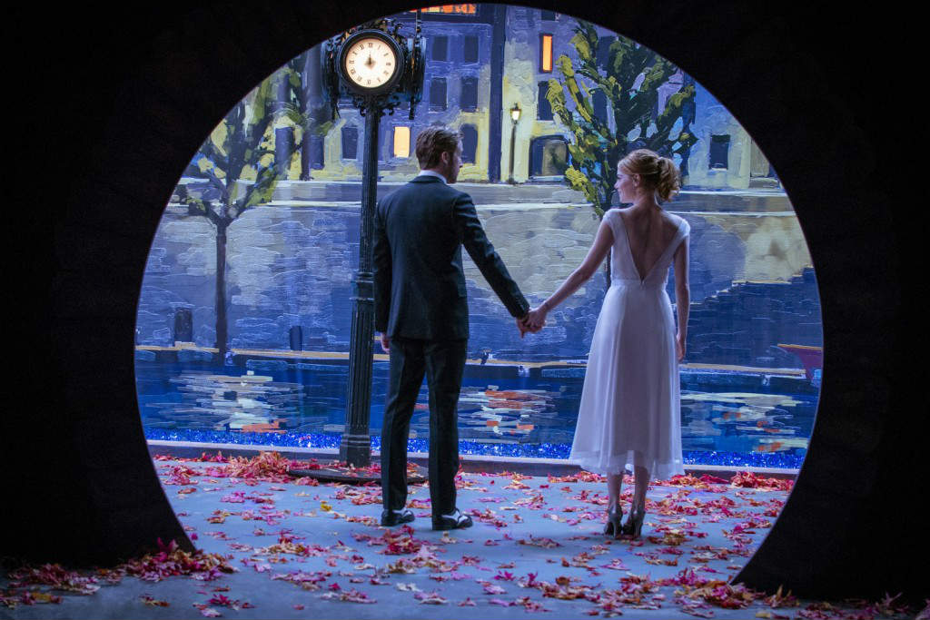 Ryan Gosling ed Emma Stone in La La Land
