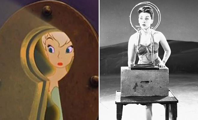 Attori reali che hanno ispirato la Disney