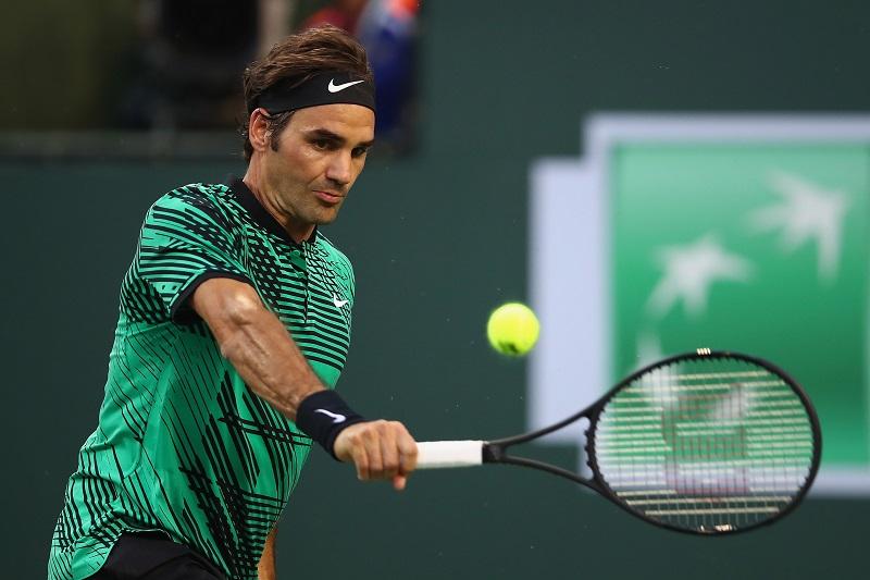 Federer rovescio