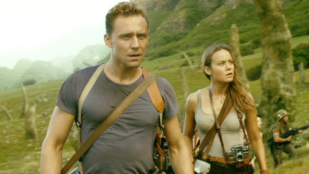 Tom Hiddleston e Brie Larson in Kong: Sull Island