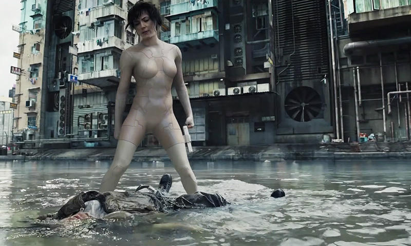 Ghost in the Shell live action 2017