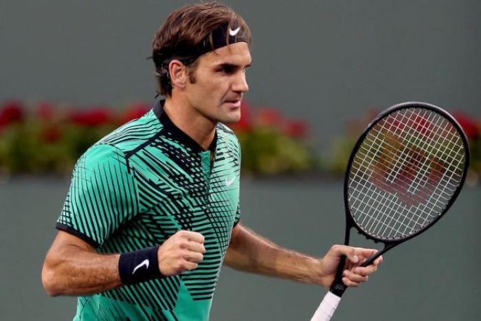 Roger Federer Indian Wells 2017