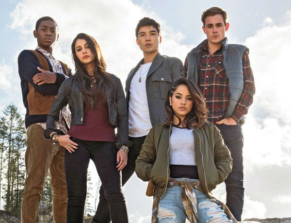 power rangers film 2017 cast