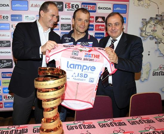 Michele Scarponi Giro 2011
