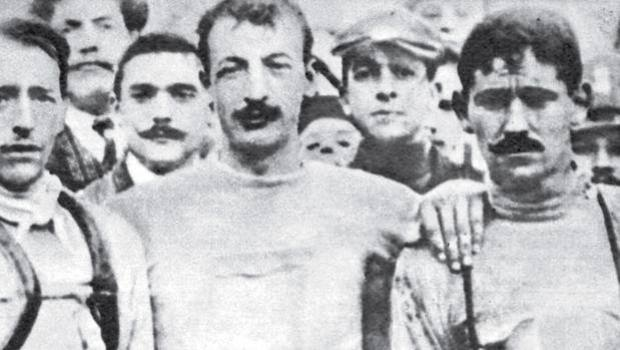 Ganna, uno dei pionieri del ciclismo