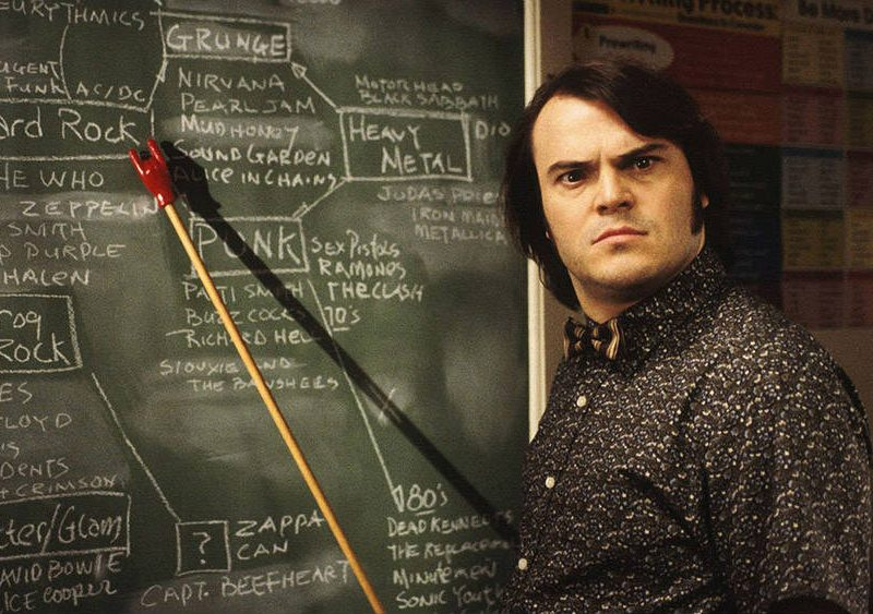 commedie rock: school of rock