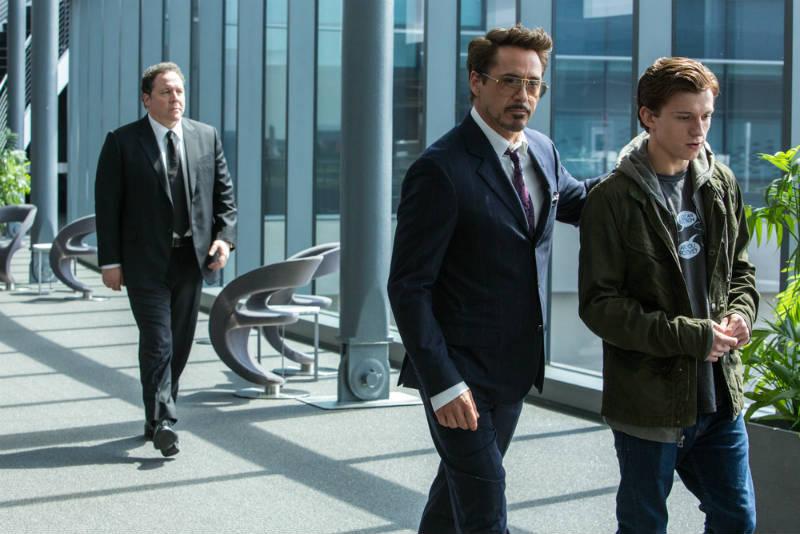 Spider-Man: Homecoming Tom Holland Robert Downey Jr