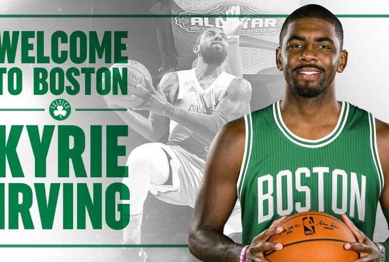 Kyrie Irving a Boston