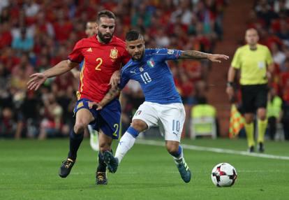 Spagna Italia 2017