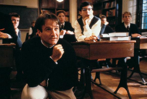 L'attimo fuggente Robin Williams
