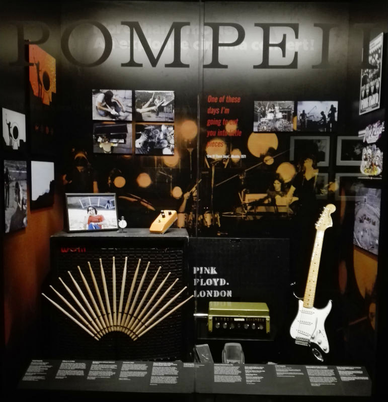 The Pink Floyd Exhibition Live at Pompeii