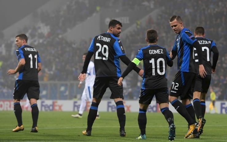 Atalanta girone d'andata 2017/2018