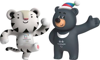 Soohorang and Bandabi Pyeongchang 2018