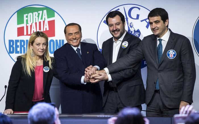 Salvini Berlusconi Meloni